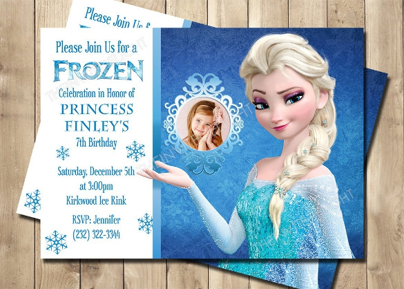 7th birthday invitation frozen theme ; free-frozen-birthday-invitations-as-nice-template-to-create-awesome-birthday-invitations-design