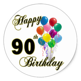 90th birthday stickers ; happy_90th_birthday_gifts_and_birthday_apparel_classic_round_sticker-r080d251a2bbd4dca81cf3cded92d44cc_v9wth_8byvr_324