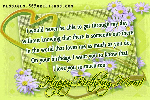 a good birthday wish message ; mom-birthday-wishes