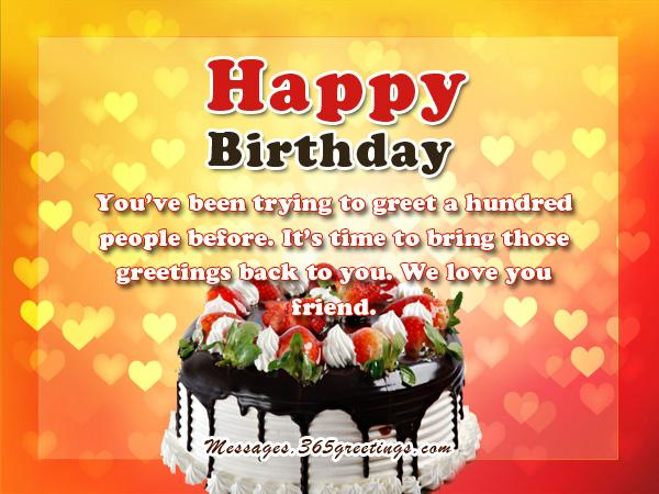 a good birthday wish message ; nice-birthday-messages
