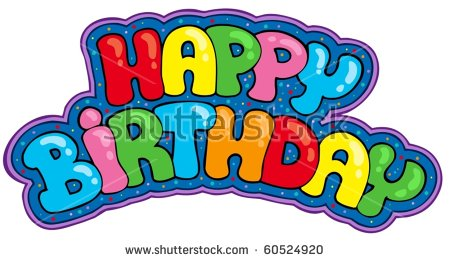 a happy birthday sign ; stock-vector-happy-birthday-sign-vector-illustration-60524920