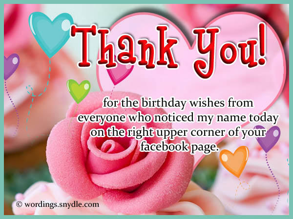 a thank you message for birthday wishes on facebook ; birthday-thank-you-messages-for-facebook