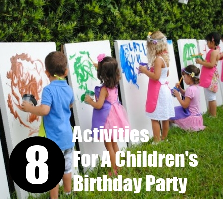 activities for child's birthday party ; Activities-For-A-Childrens-Birthday-Party