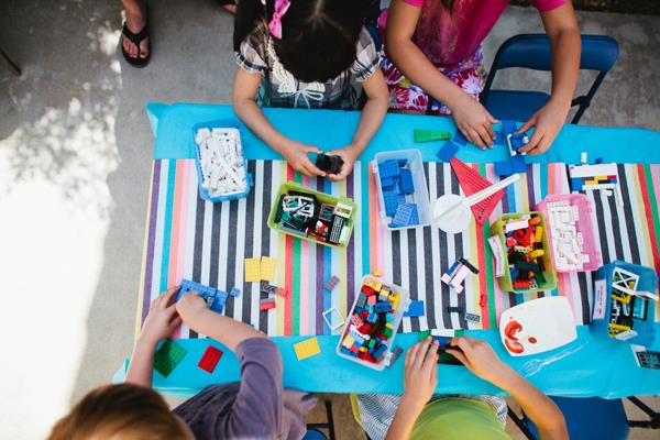 activities for preschool birthday party ; activity-for-lego-themed-kids-birthday-party