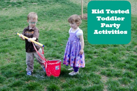 activities for preschool birthday party ; kid-tested