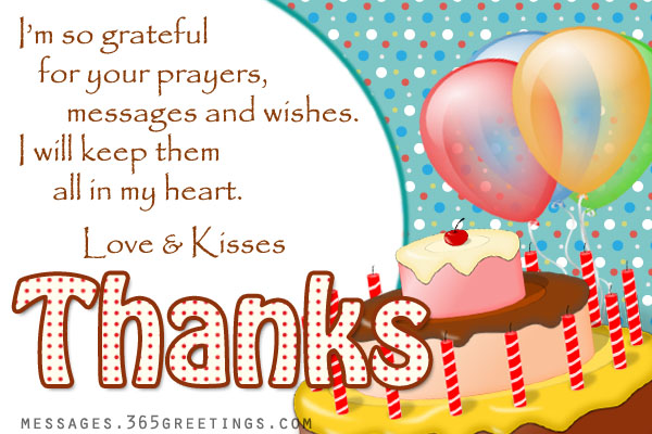 appreciation message for birthday well wishers ; birthday-thank-you-message