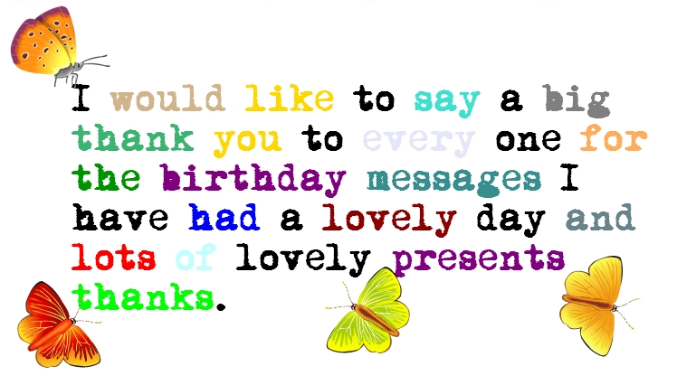 appreciation message for birthday wishes ; Birthday-ThankYou-Quotes