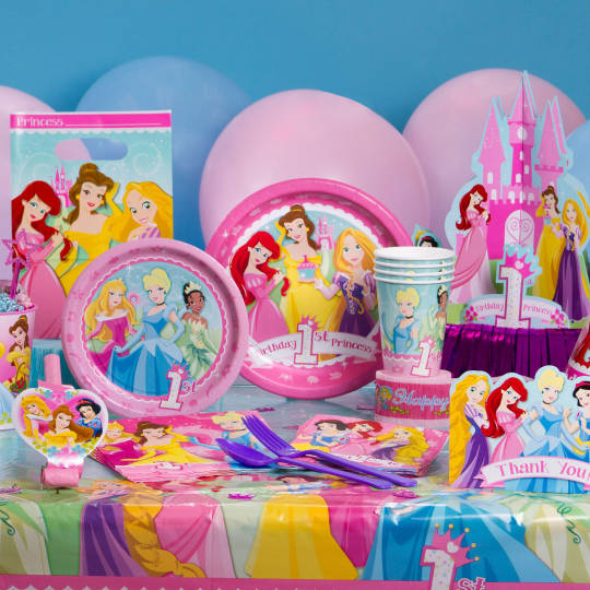 baby birthday activities ; princess-party-1800-view1-540x540