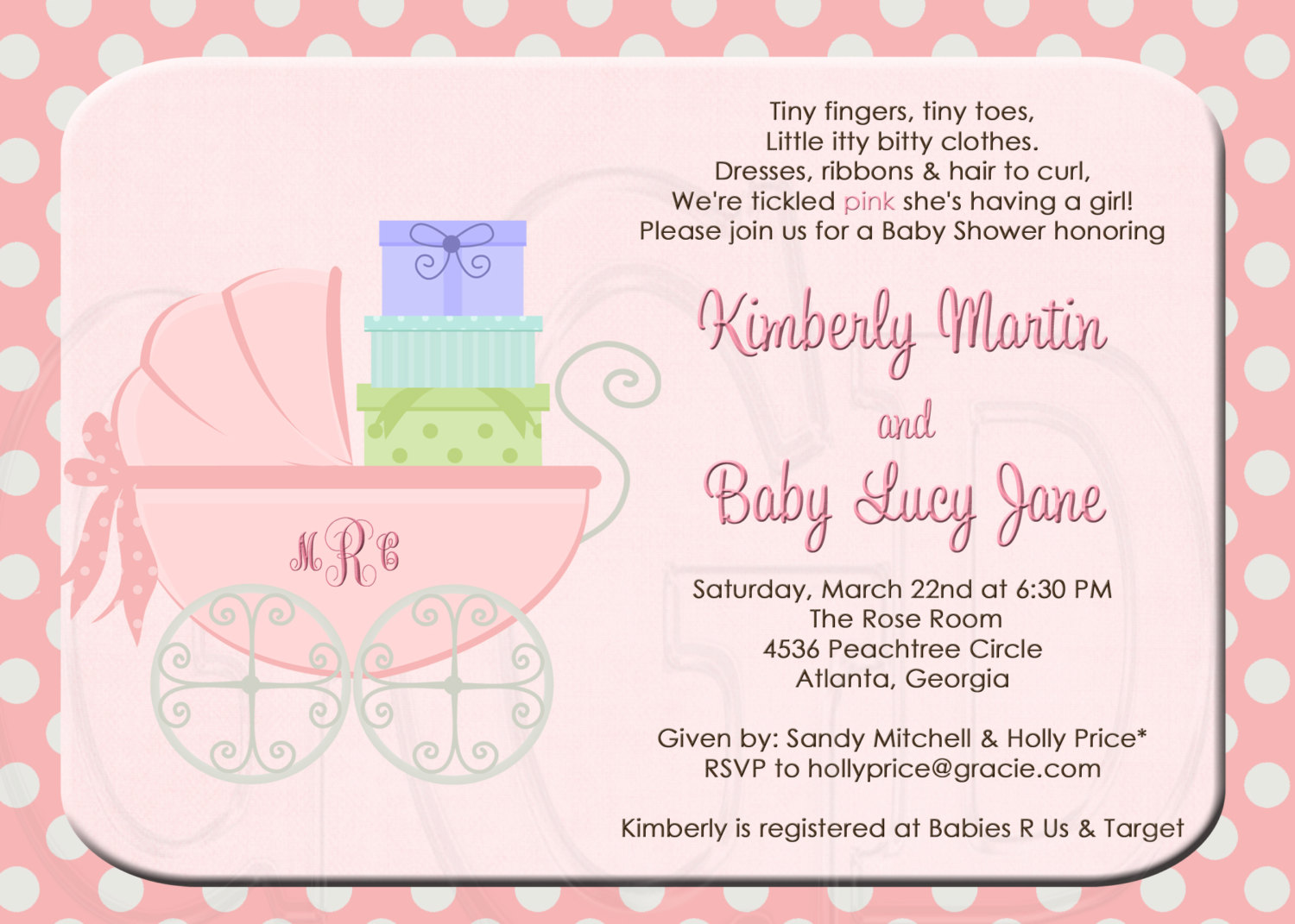 baby birthday invitation quotes ; baby-shower-invitations-wording-for-third-baby-216