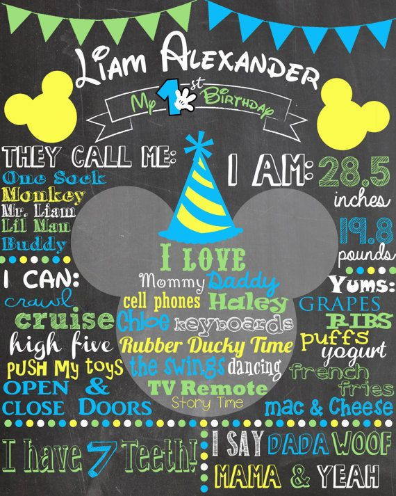 baby birthday poster design ; 4ffbc0958f3ad7ad0d95469221f8e62a--blue-mickey-mouse-party-baby-mickey-mouse