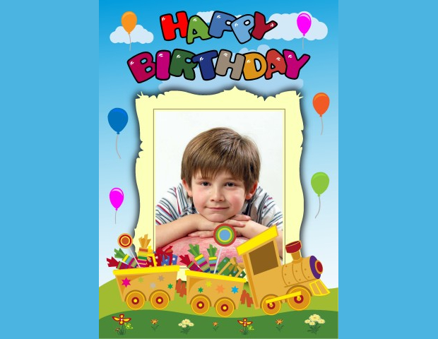 baby birthday poster design ; Birthday-Party-Poster-Design-