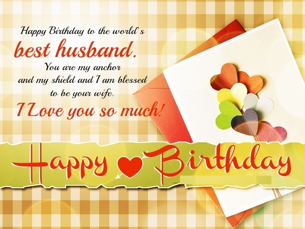 baby birthday wishes card ; Birthday-wishes-for-Husband