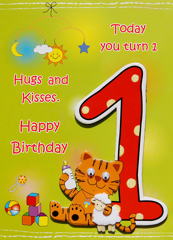 baby birthday wishes card ; best-childrens-cards1big