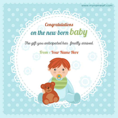 baby birthday wishes card ; greeting-card-baby-create-online-congratulations-on-new-ba-born-picture-wishes-free