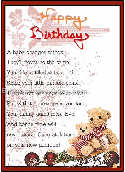 baby birthday wishes card ; sweet_baby_birthday86