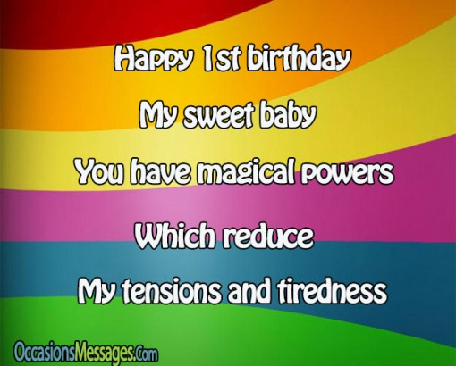 baby birthday wishes message ; d4f61b74287b9a77660a1a88bf48955d