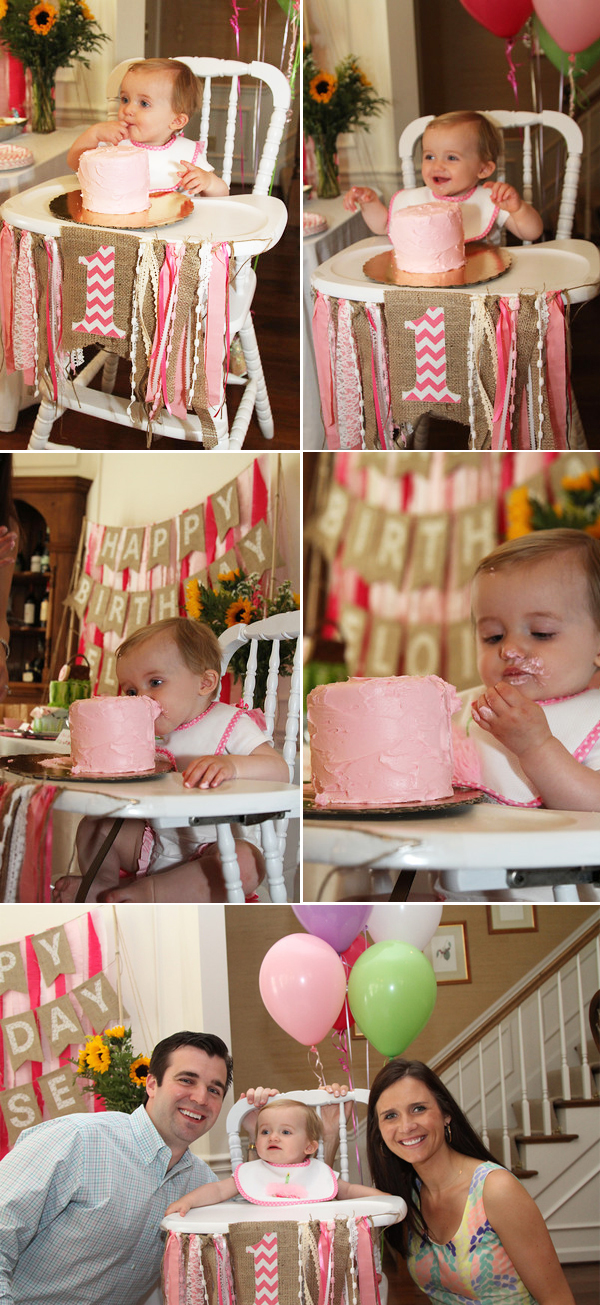 baby first birthday activities ; pink-picnic-first-birthday-party6