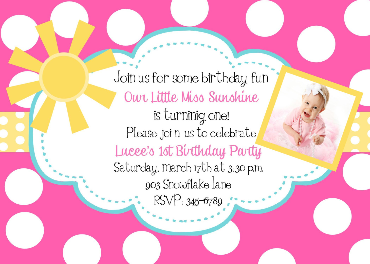 baby girl birthday invitation quotes ; 52350ce1db9ad070bed97f4266580d24