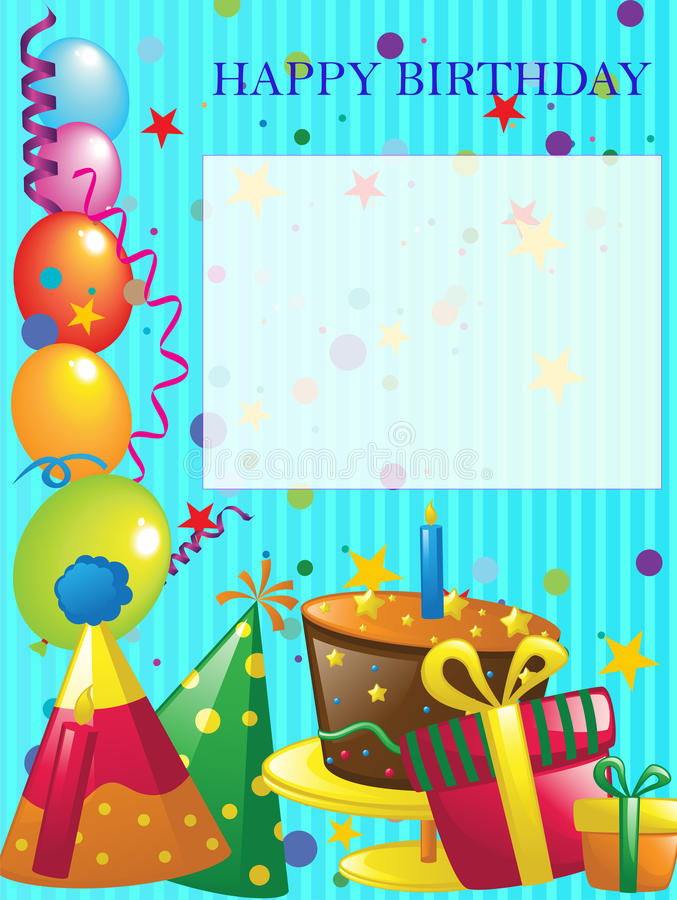 background design for birthday invitation ; happy-birthday-background-invitation-design-37238710