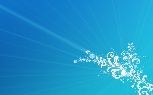 background images for birthday banner ; Ornamental-Blue-Background-600x375