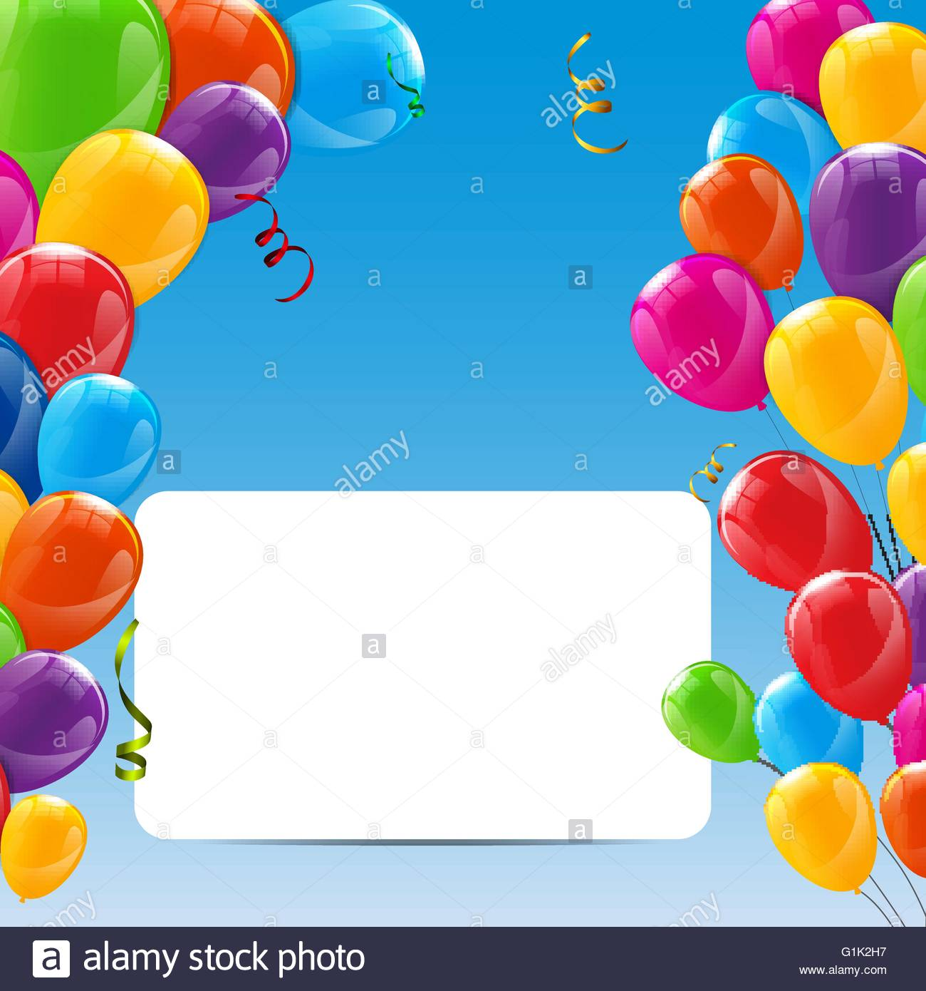background images for birthday banner ; color-glossy-happy-birthday-balloons-banner-background-G1K2H7