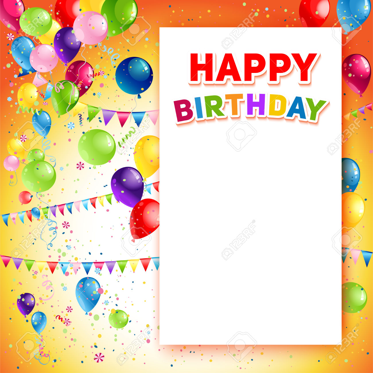 banner design birthday ; 62469211-Holiday-template-for-design-banner-ticket-leaflet-card-poster-and-so-on-Happy-birthday-background-an-Stock-Vector