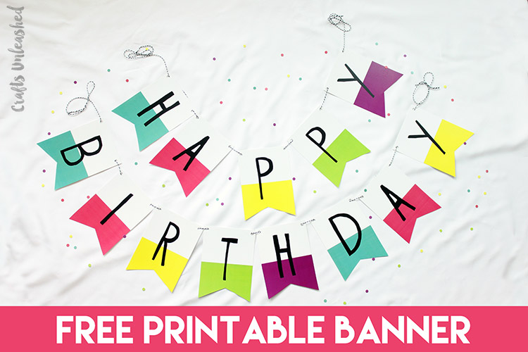 banner of happy birthday ; free-printable-birthday-pictures-free-printable-banner-happy-birthday-pennants-consumer-crafts-preschool-colouring-pages