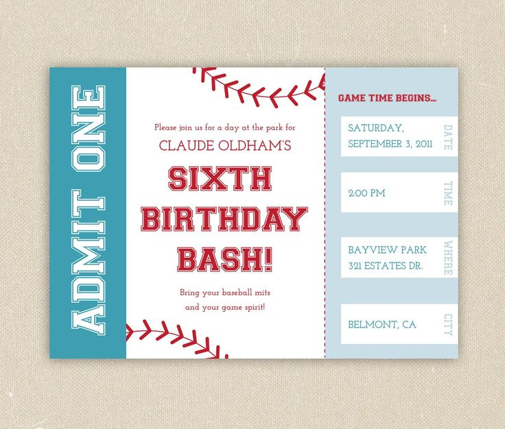 baseball themed birthday party invitation wording ; 1307c2ec2230b33c433b3daa2b5891ad--baseball-birthday-invitations-baseball-birthday-party