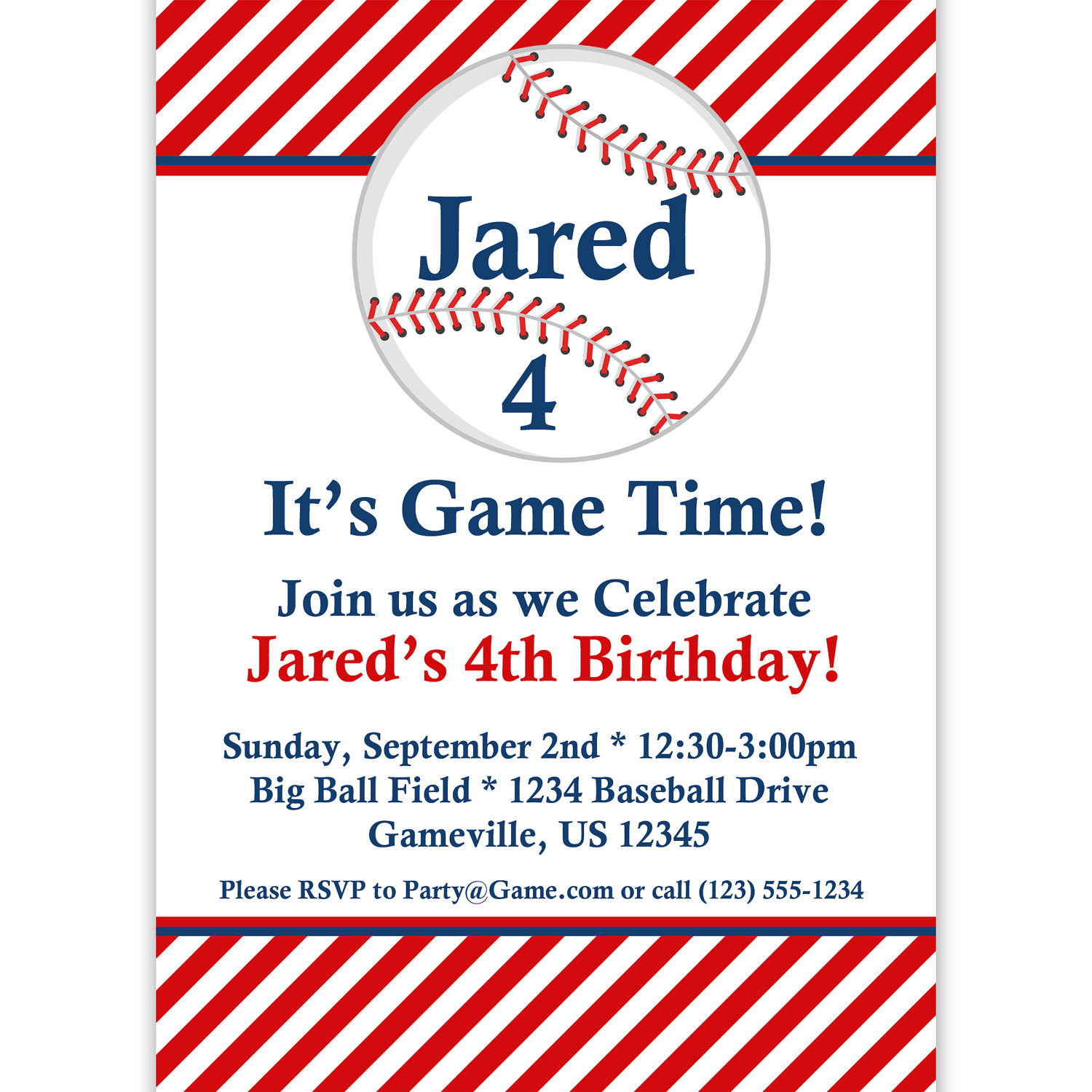 baseball themed birthday party invitation wording ; Baseball-Birthday-Party-Invitations-and-get-inspiration-to-create-the-birthday-Invitation-design-of-your-dreams-1