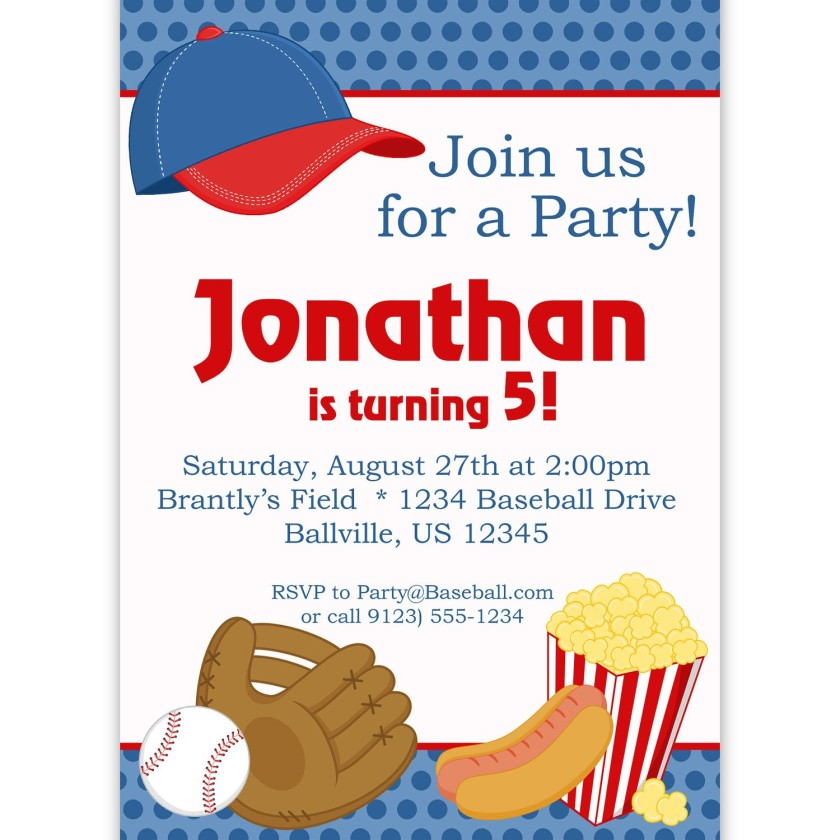 baseball themed birthday party invitation wording ; Baseball-birthday-party-invitation-wording