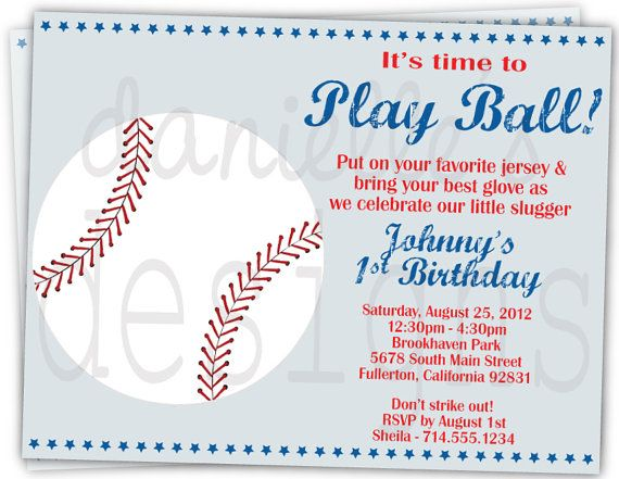 baseball themed birthday party invitation wording ; baseball-party-invitation-wording-35-best-joeys-1st-birthday-images-on-pinterest-birthday-party