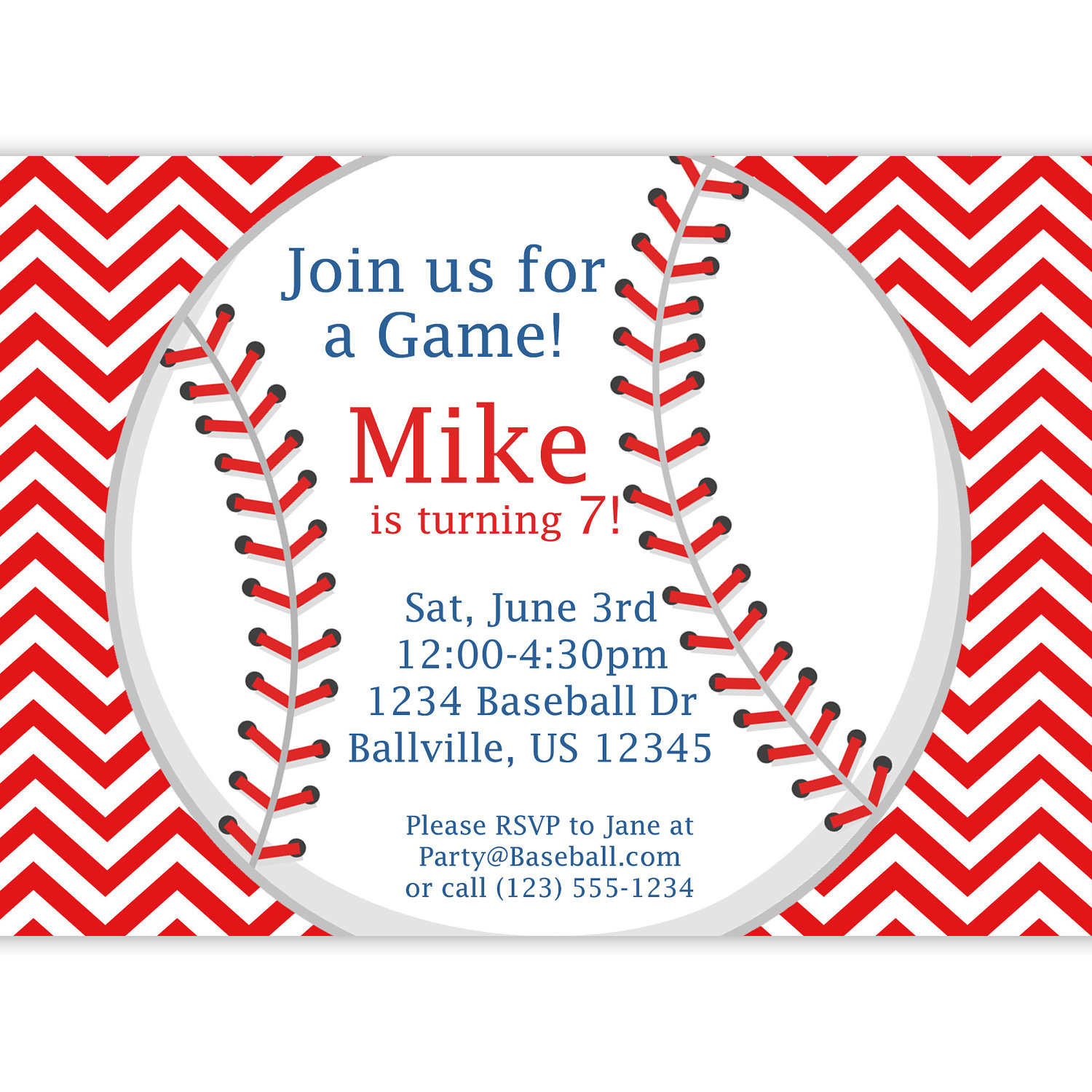 baseball themed birthday party invitation wording ; c5daac77b76772a6198b005c65edd8ad