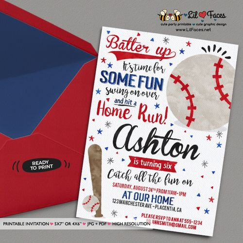 baseball themed birthday party invitation wording ; da85af698f4a1e9aca1644a8937573a0--st-baseball-birthday-party-chicago-cubs-birthday-party