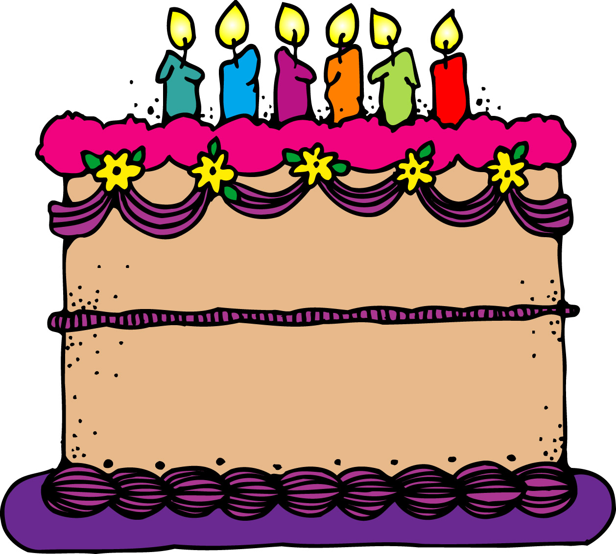 bday cake clipart ; images-of-a-birthday-cake-4