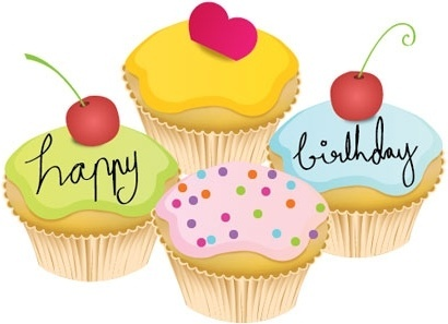 bday cake clipart ; lovely_little_birthday_cake_vector_147285