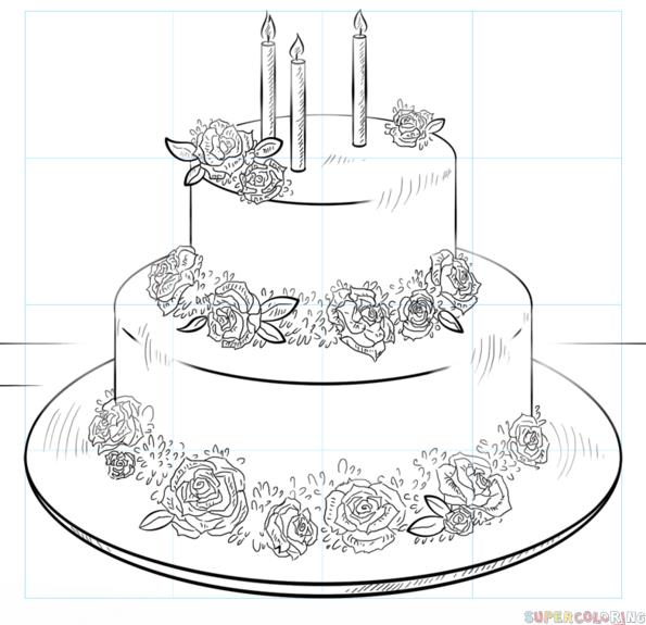 bday drawings ; birthday-cake-0-how-to-draw