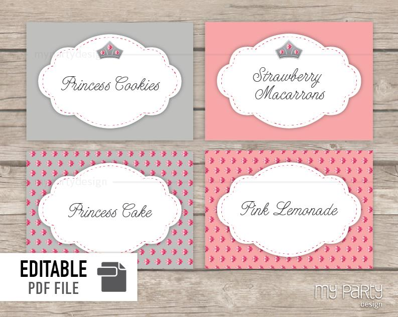 bday labels ; FOOD_LABELS_PRINCESS_THEME-02