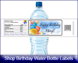 bday labels ; waSplash-bday