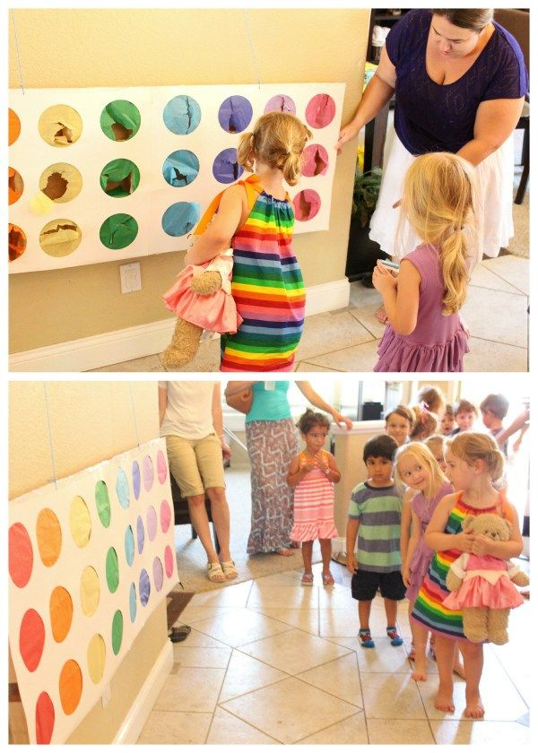 bday party activities ; 5b276a1b4c90046a224f6d77838e1813--rainbow-birthday-parties-rd-birthday-party-for-girls-theme
