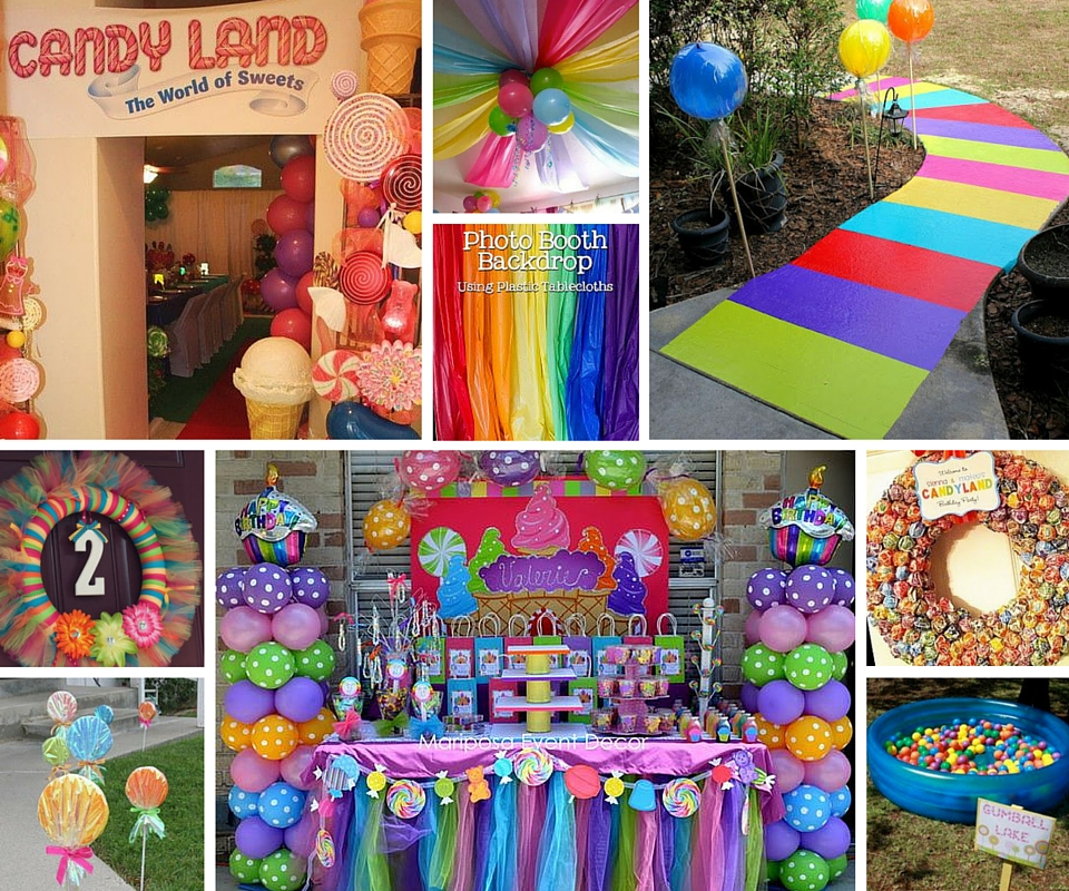 bday party activities ; candyland-birthday-party-activities