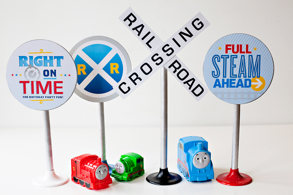 bday signs ; TNF-Bday-8-RailroadSigns_tcm1085-303089