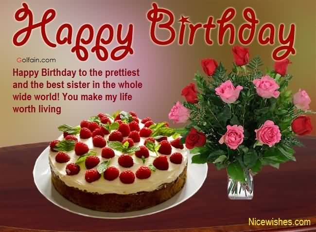 beautiful birthday greetings images ; Beautiful-Greetings-Birthday-Wishes-For-Lovely-Sister