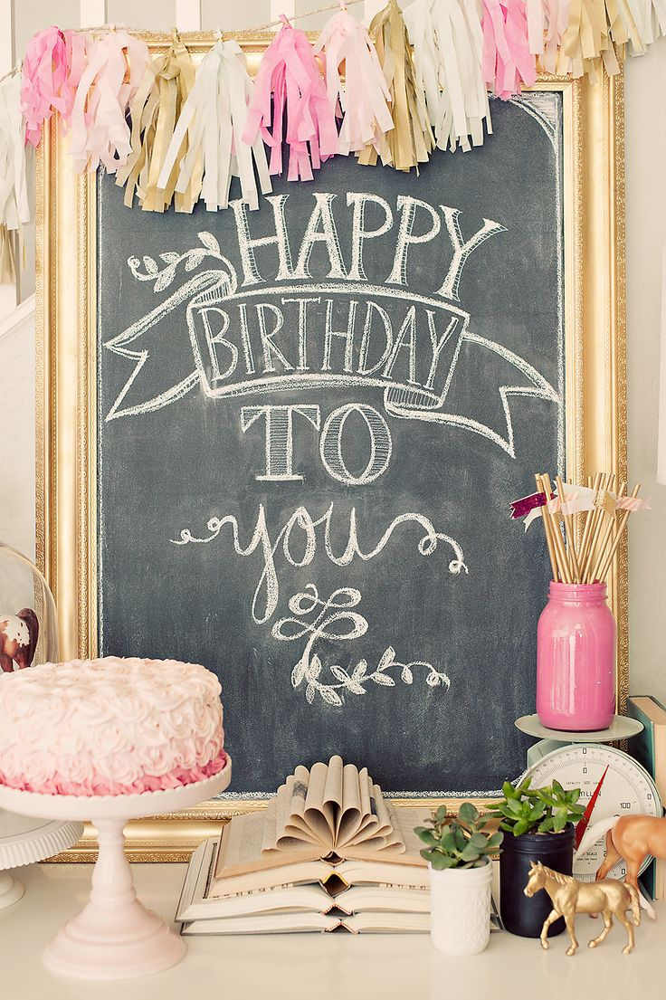 best happy birthday signs ; c68f54d7ab866271f6ec65d3a740550d--pink-birthday-cakes-birthday-party-tables