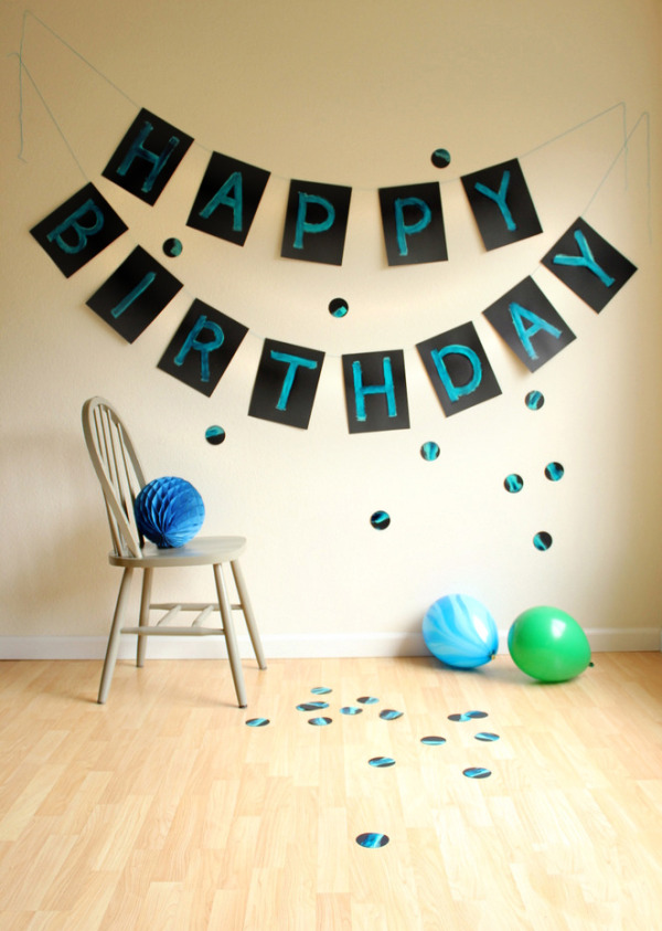 best happy birthday signs ; painted-birthday-banner