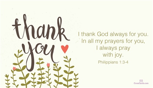 biblical thank you message for birthday greetings ; 33760-thank-god-always
