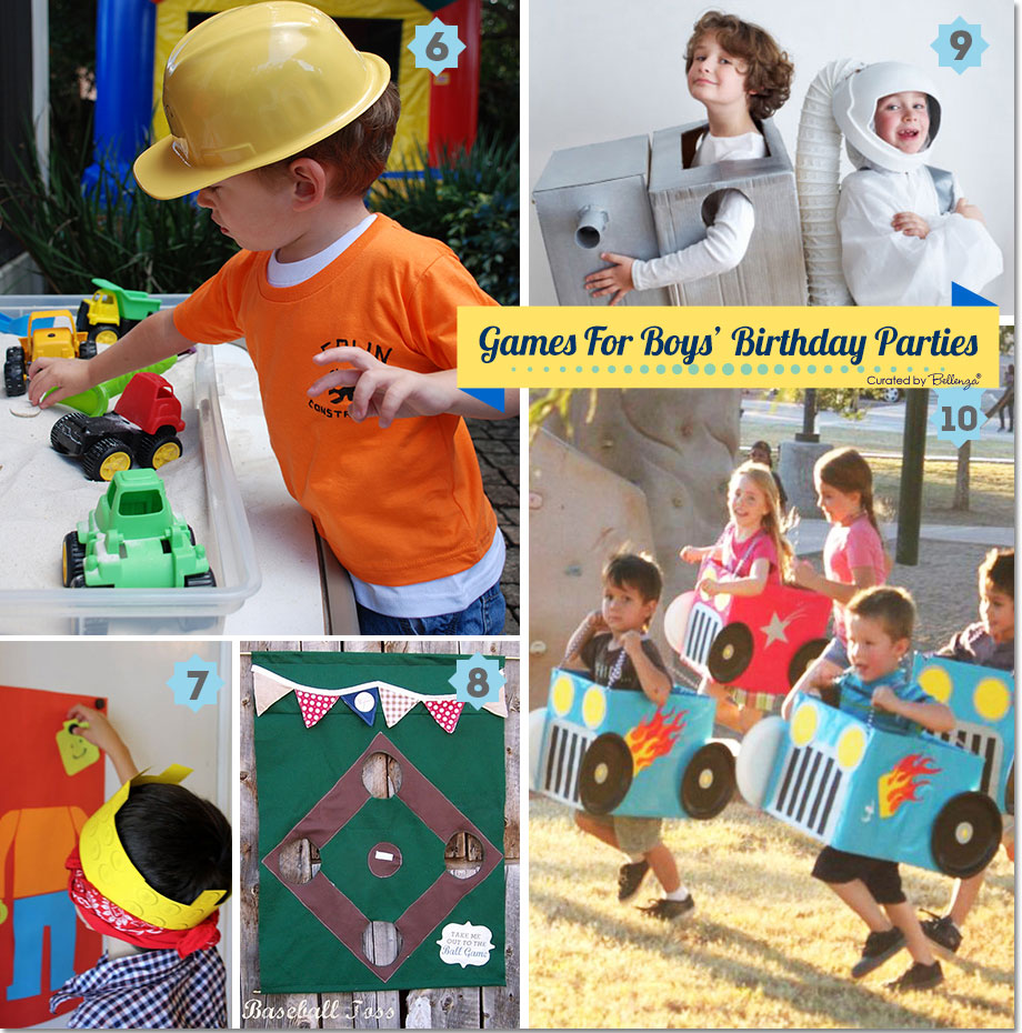 birthday activities for boys ; boy-games-set2