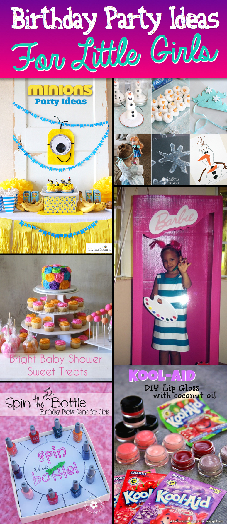 birthday activities for girls ; Exquisite-Birthday-Party-Ideas-For-Little-Girls
