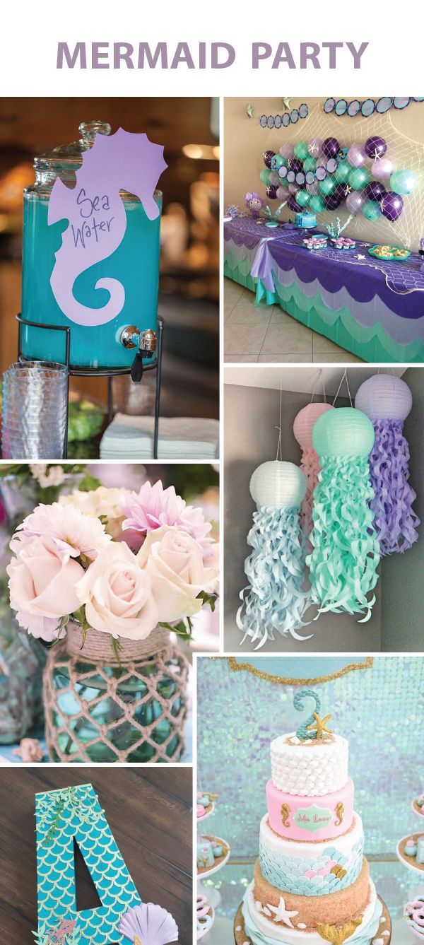 birthday activities for girls ; abcd2b129e49daca7d03266b987396a7--mermaid-parties-kids-mermaid-party-ideas