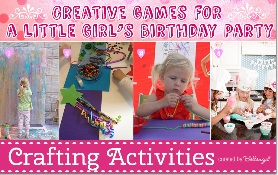 birthday activities for girls ; girl-b-day-games