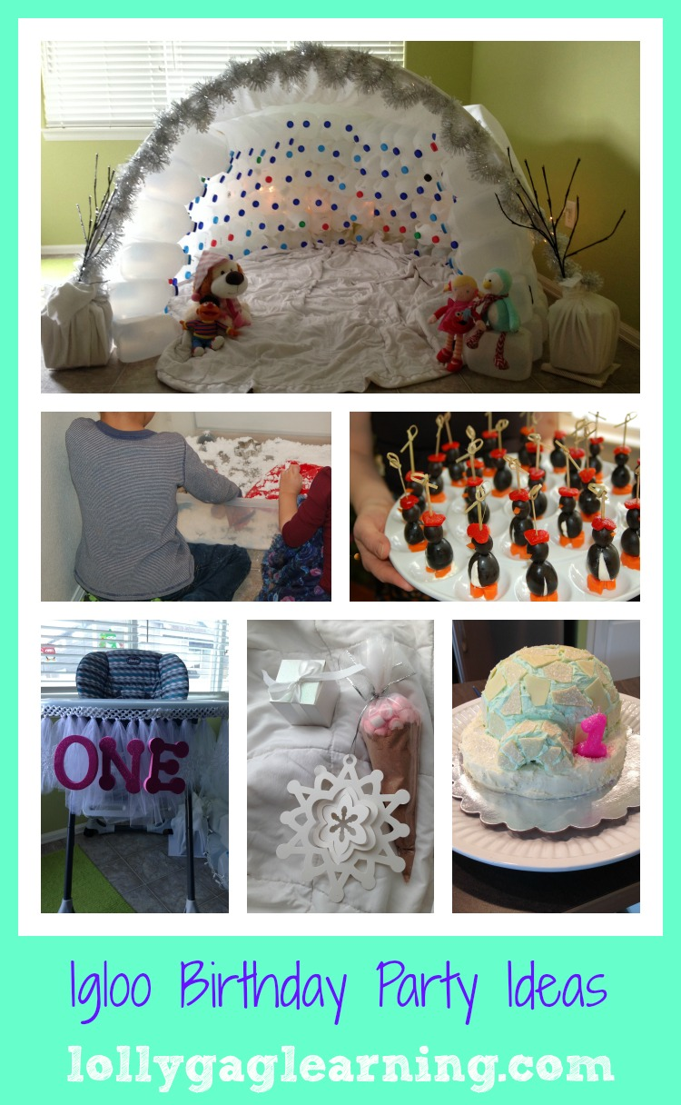 birthday activities for toddlers ; IglooPartyCollage
